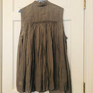 Anthropologie Holding Horses Womens Size Large Top